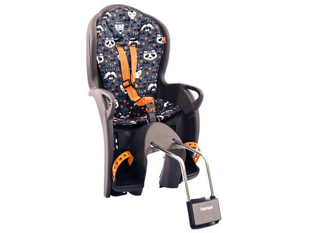 Hamax Kiss Kindersitz grau/orange muser